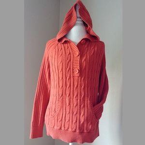 🌩️flash sale🌩️Orange sweater hoodie